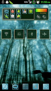 GoWidget Theme - Forest Light - screenshot thumbnail