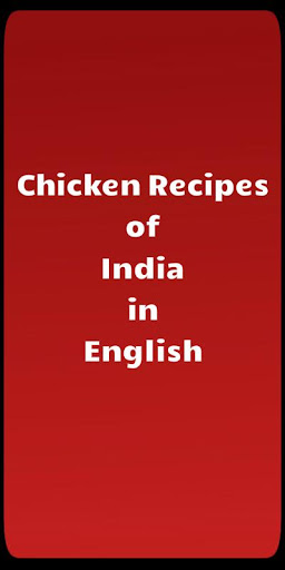 Chicken Recipes of India