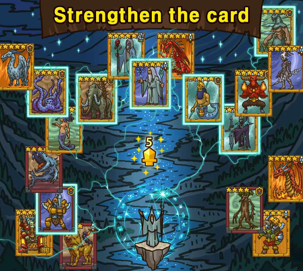 Card of Legends:Random Defense- screenshot