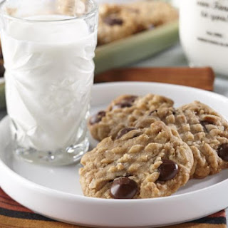 Peanut Butter Oatmeal Cookies.