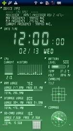 Device Info Ex Live Wallpaper Screenshot 2