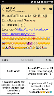 Emoji Keyboard - White Smart