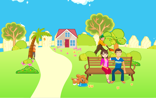 Kissing Game-Garden Romance 3.0.3 screenshots 4