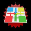 Locos por el Parchis (Ludo) logo