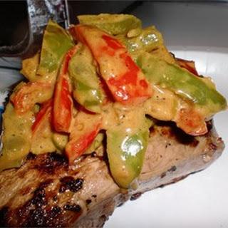 Steak au Poivre with a Curry Twist