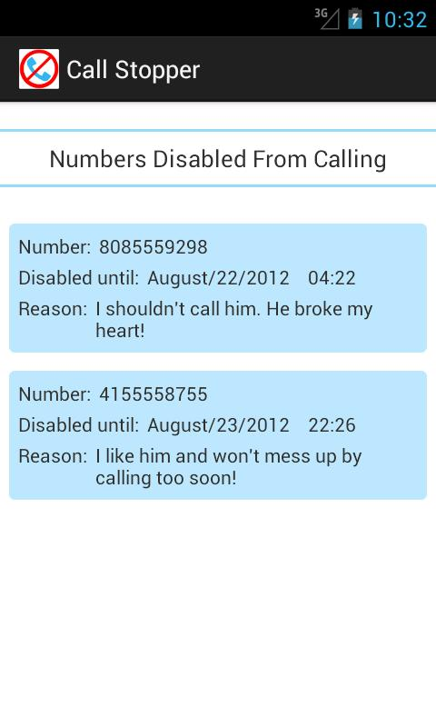 Call Stopper Lite - screenshot
