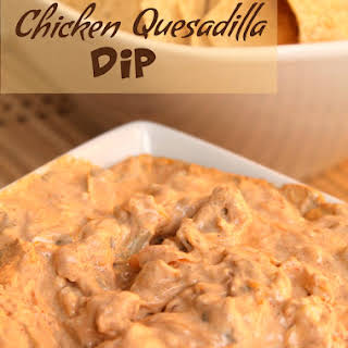 Chicken Quesadilla Dip.