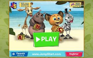 Screenshot of Madagascar: My ABCs Free