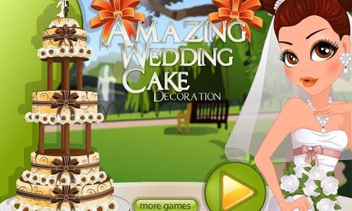 婚禮蛋糕裝飾遊戲