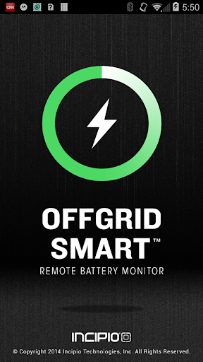 offGRID™ Smart Battery Monitor