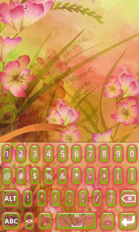 KB SKIN - Blossom - screenshot
