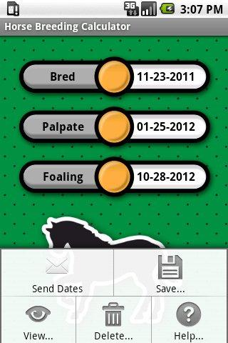 Horse Breeding Calculator - screenshot