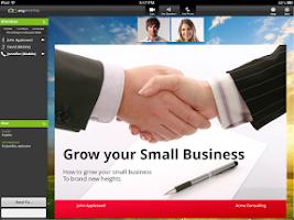 Screenshot of AnyMeeting