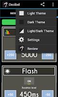 Screenshot of Decibel (Sound Meter)