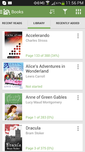 Aldiko Book Reader  screenshots 3
