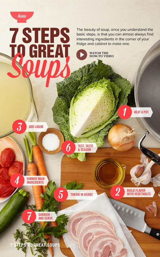 Food Network: Super Soups - screenshot