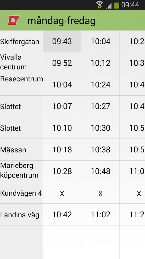 Länstrafiken Örebro - screenshot