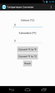 Farenheit to Celsius Converter