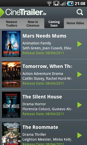 CineTrailer Cinema & Showtimes 4.0.46 screenshots 5