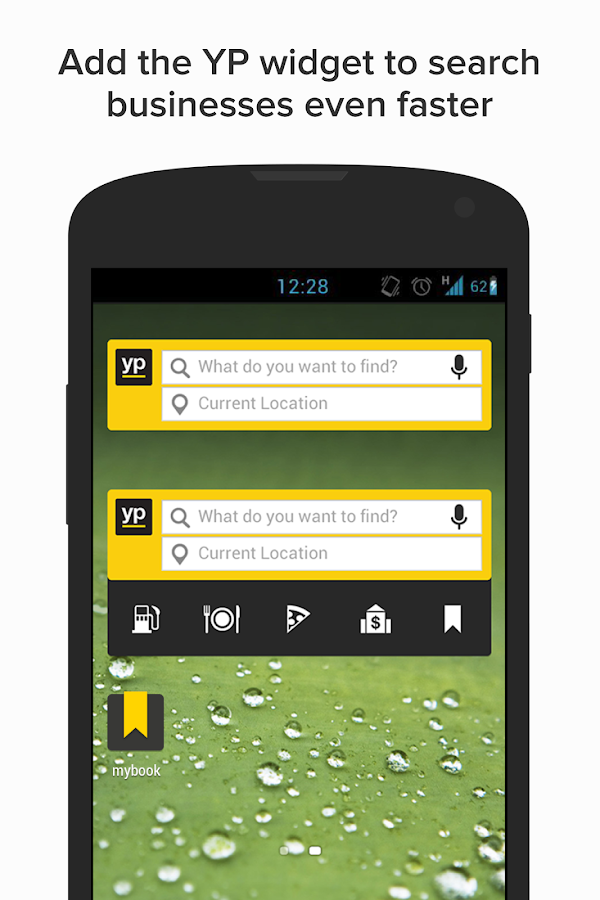 YP - Yellow Pages local search - screenshot