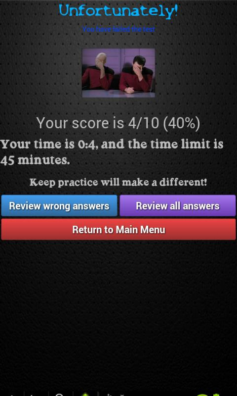 Bus Driving Theory Test Class2- screenshot