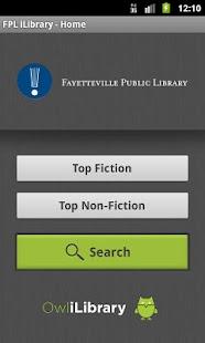 Fayetteville Public iLibrary- screenshot thumbnail
