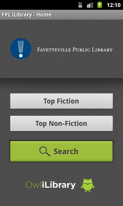 Fayetteville Public iLibrary- screenshot