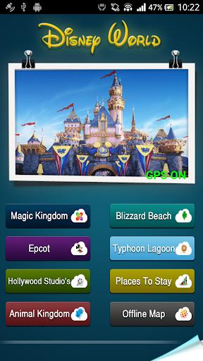 Offline Guide to Disney World