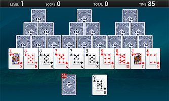 Screenshot of TriPeaks