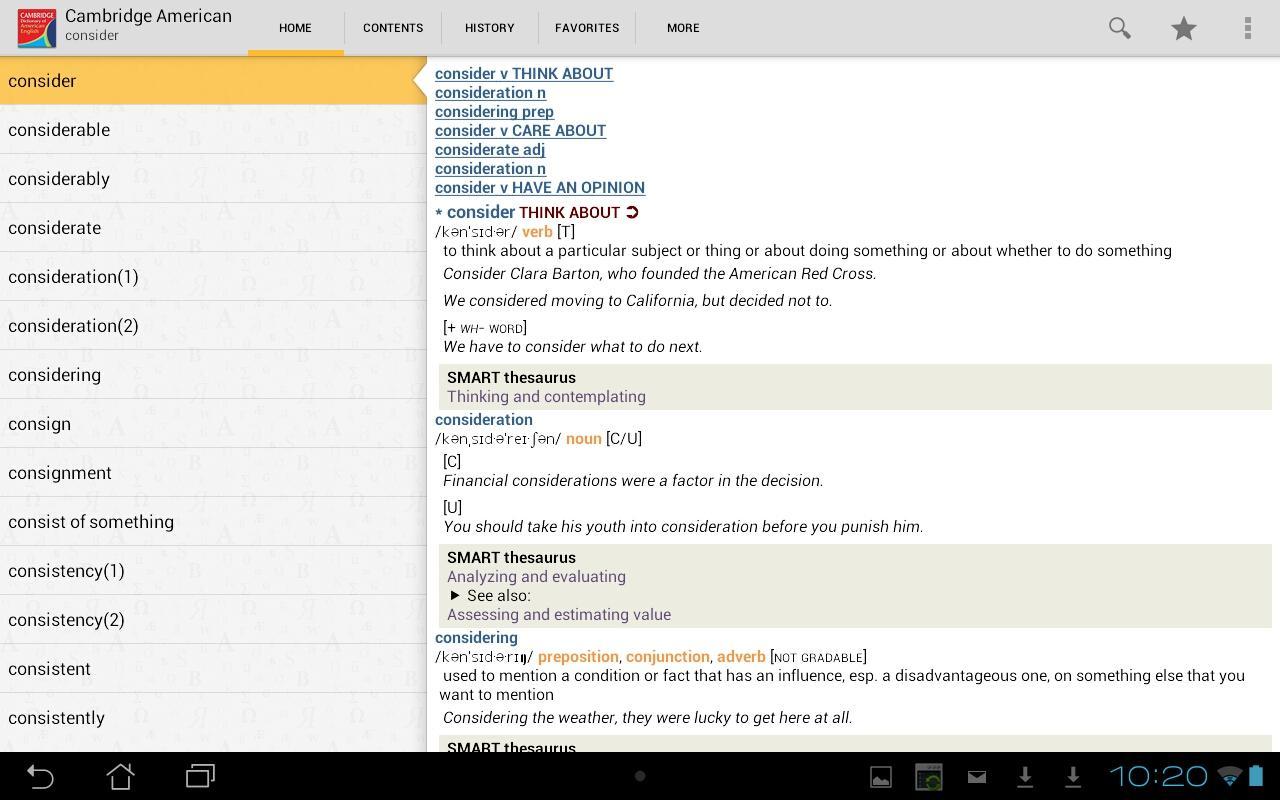 Cambridge American English - screenshot