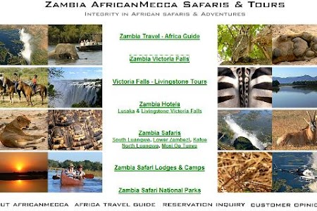 Zambia Safari Victoria Falls screenshot 0