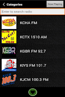 Screenshot of FreeStreams Free Radio App
