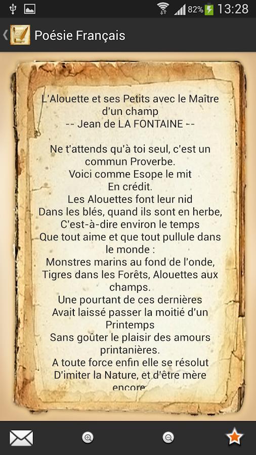 Dissertation poesie bac francais