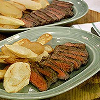 Pan-Fried Steak.
