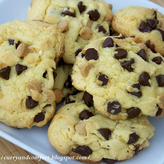 Chocolate & Peanut Butter Chip Cookies.