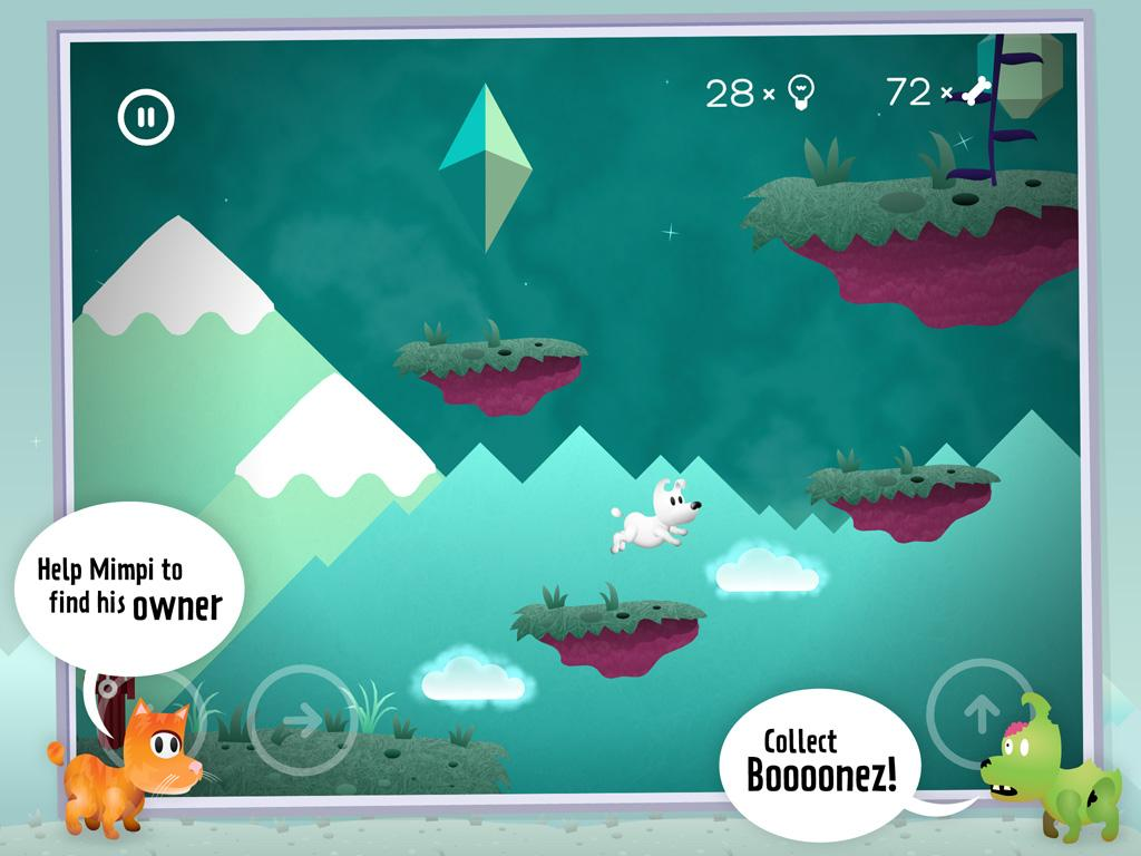 MIMPI 2d platformer - screenshot