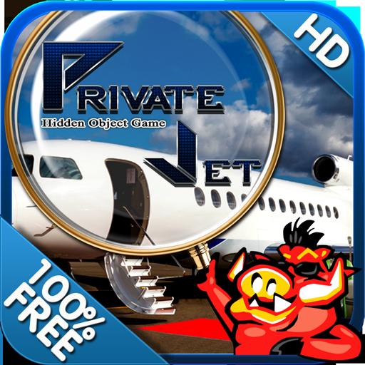 Private Jet Free Hidden Object LOGO-APP點子