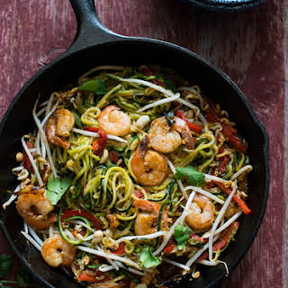 Zoodle Pad Thai.