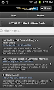 GEOINT 2012 Symposium - screenshot thumbnail