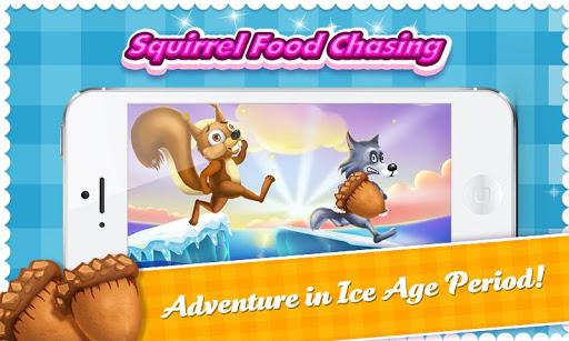 Squirrel Run Ice Age Food Dash