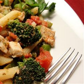Pasta, Broccoli and Chicken