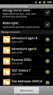 CardDAV-Sync beta - screenshot thumbnail
