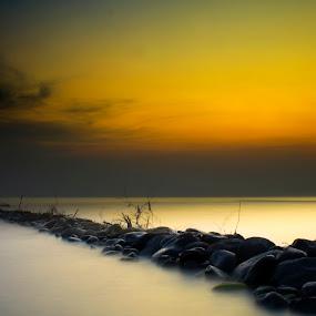 Slamaran Beach Pekalongan by Abdul Aziz - Landscapes Beaches (  )