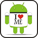 I Love Me doo-dad logo
