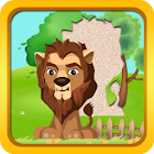 Animal Puzzle for Toddlers & kids Jigsaw fun games icon