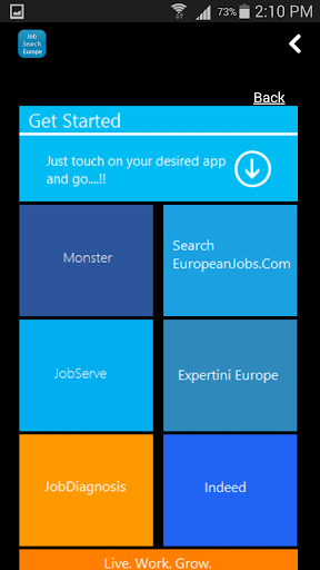【免費商業App】Job Search Europe-APP點子
