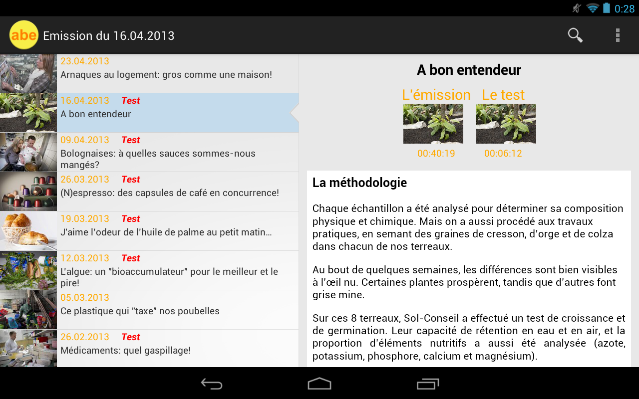 ABE (RTS) pour Android- screenshot