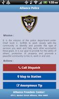Screenshot of Alliance Police
