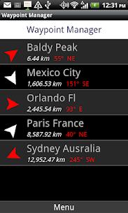 GPS Waypoints Navigator APK 4