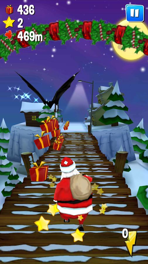 Running With Santa: Xmas Run- screenshot